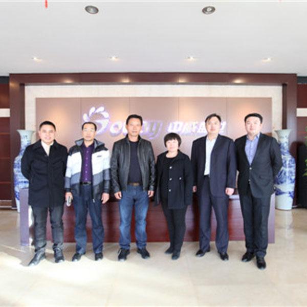 天津宝坻区委常委、宣传部部长刘亚秀一行莅临乐虎国际手机平台网调研指导工作
